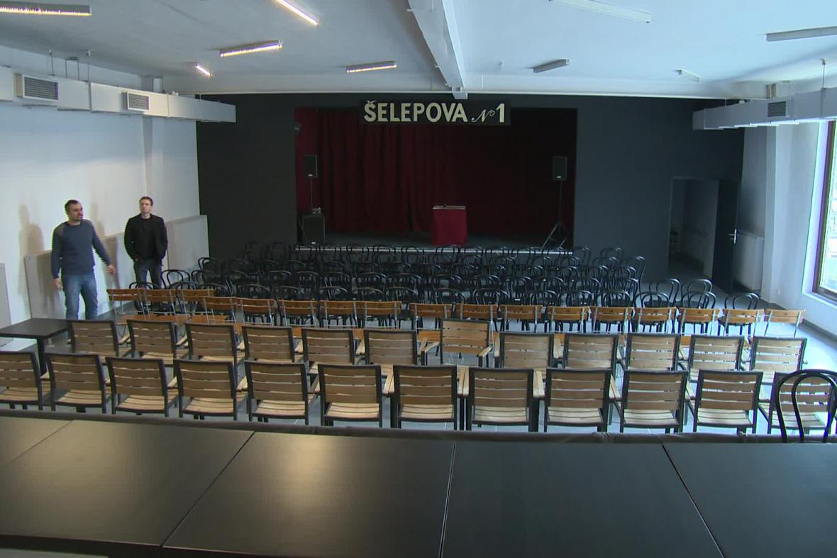 Klub Šelepova No.1 po rekonstrukci