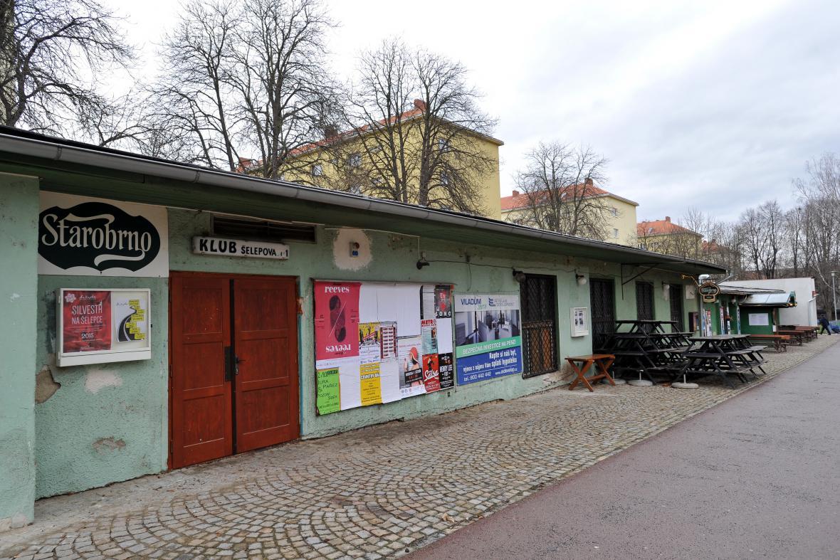 Klub Šelepova No.1 před rekonstrukcí