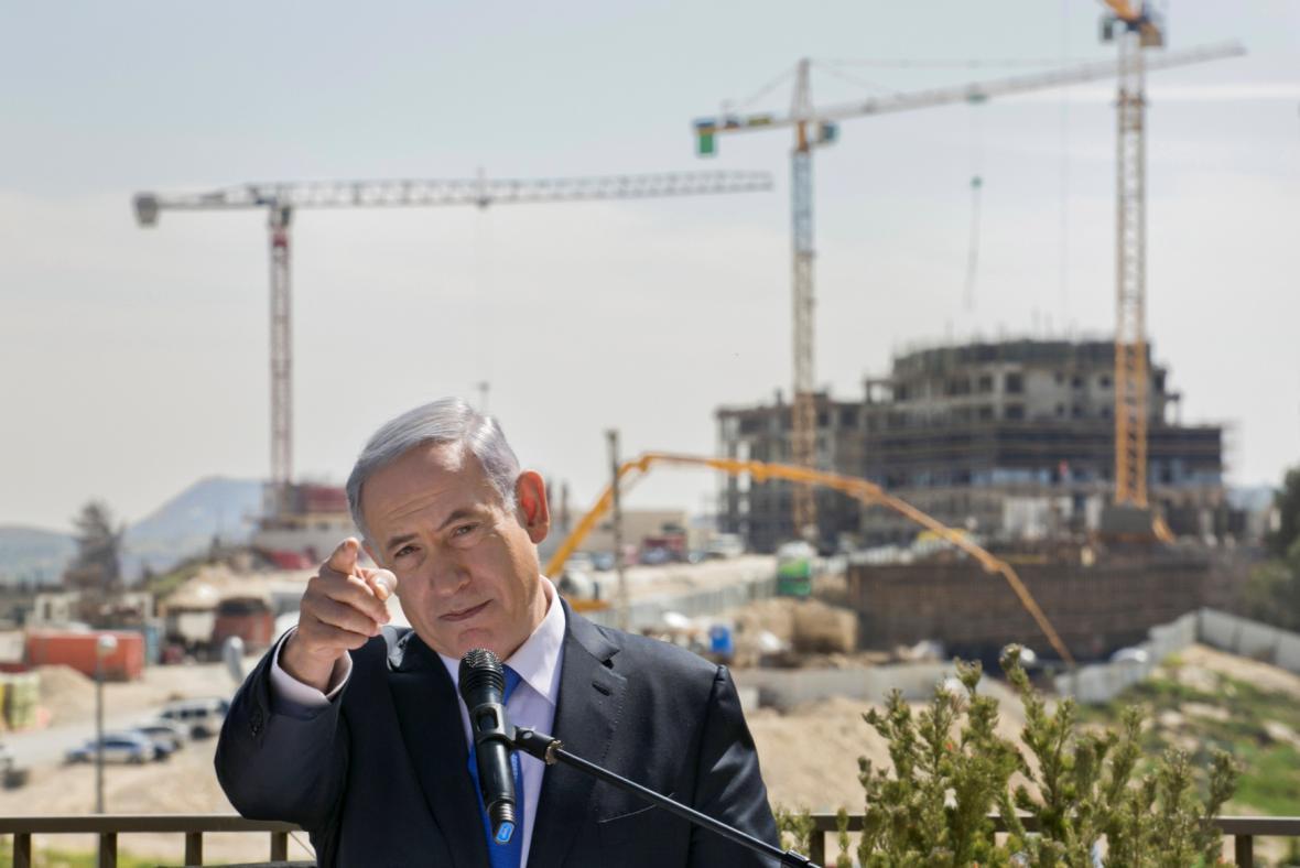 Netanjahu v poslední den předvolební kampaně