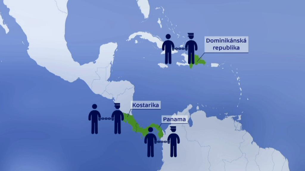 Eskorty ze střední Ameriky a Karibiku