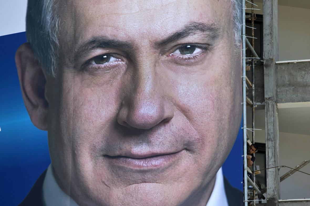 Předvolební kampaň Benjamina Netanjahua