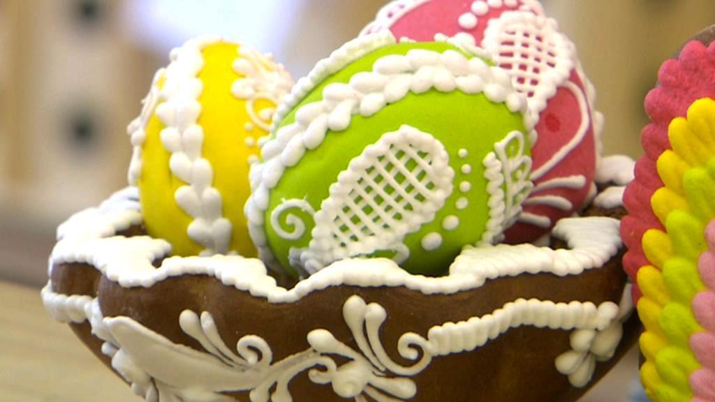 Výroba pardubického perníku jede před Velikonocemi ve velkém