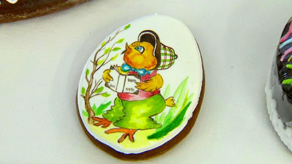 Velikonoční motivy na pardubickém perníku