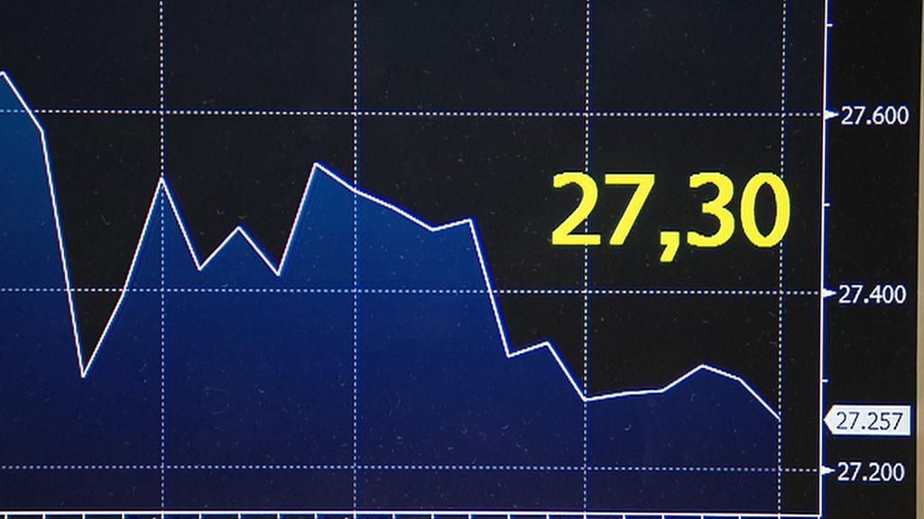 Euro za 27,30 korun