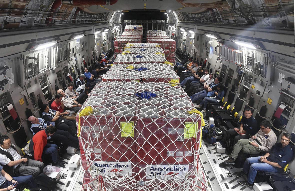 Humanitární pomoc pro Vanuatu