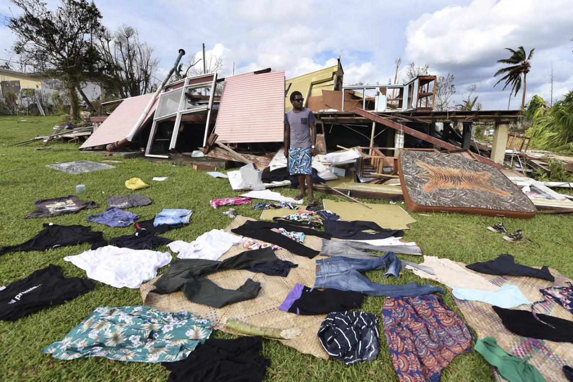 Obyvatelé Vanuatu likvidují následky bouře Pam