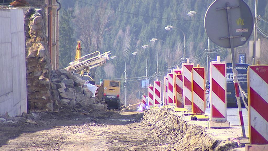 Oprava tramvajové trati mezi Libercem a Jabloncem