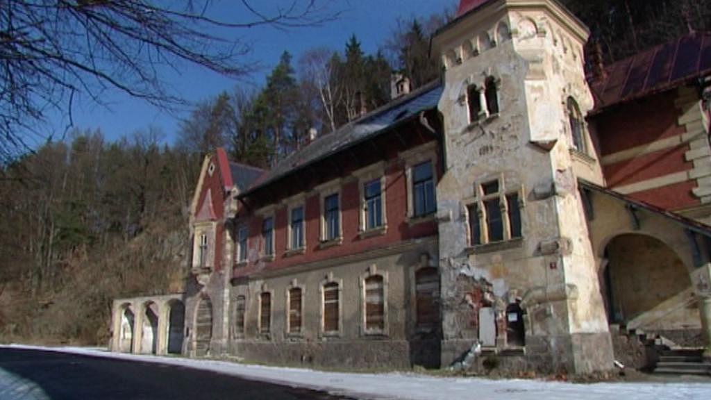 Dům Stallburg před opravou