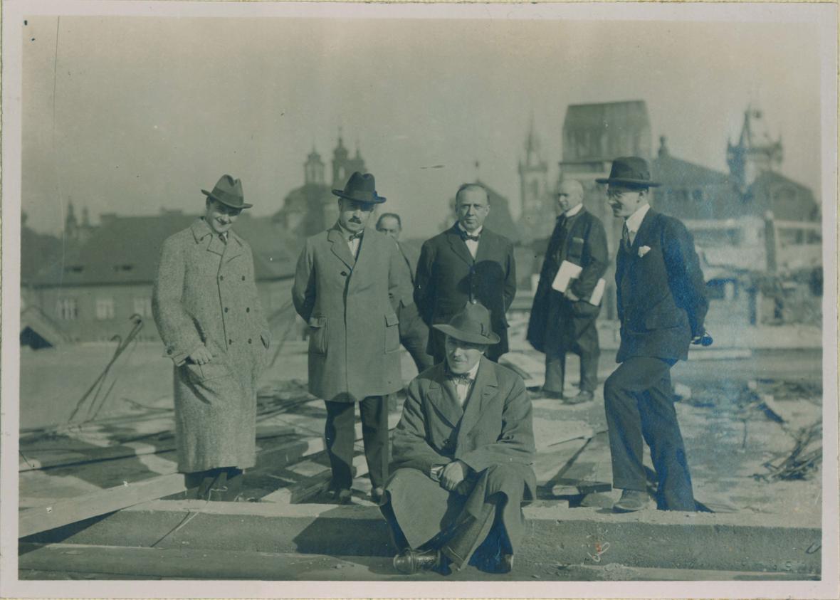 Přestavba Klementina ve 20. letech 20. století