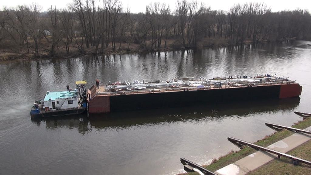 Tanker se vydává na cestu