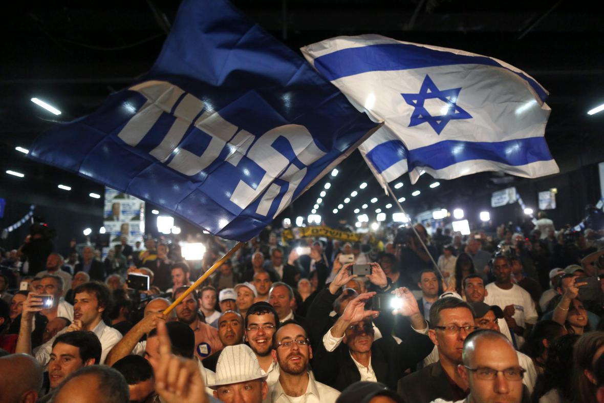 Netanjahuovi příznivci
