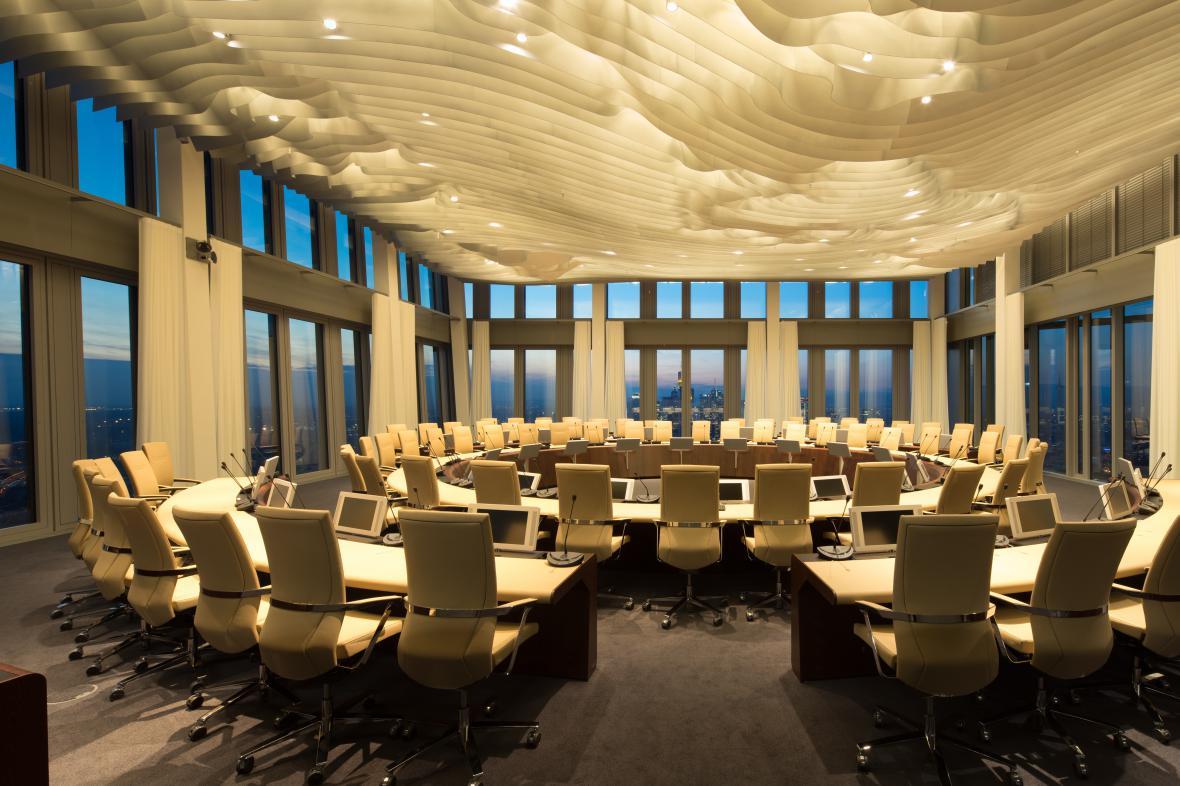 Nové sídlo Evropské centrální banky