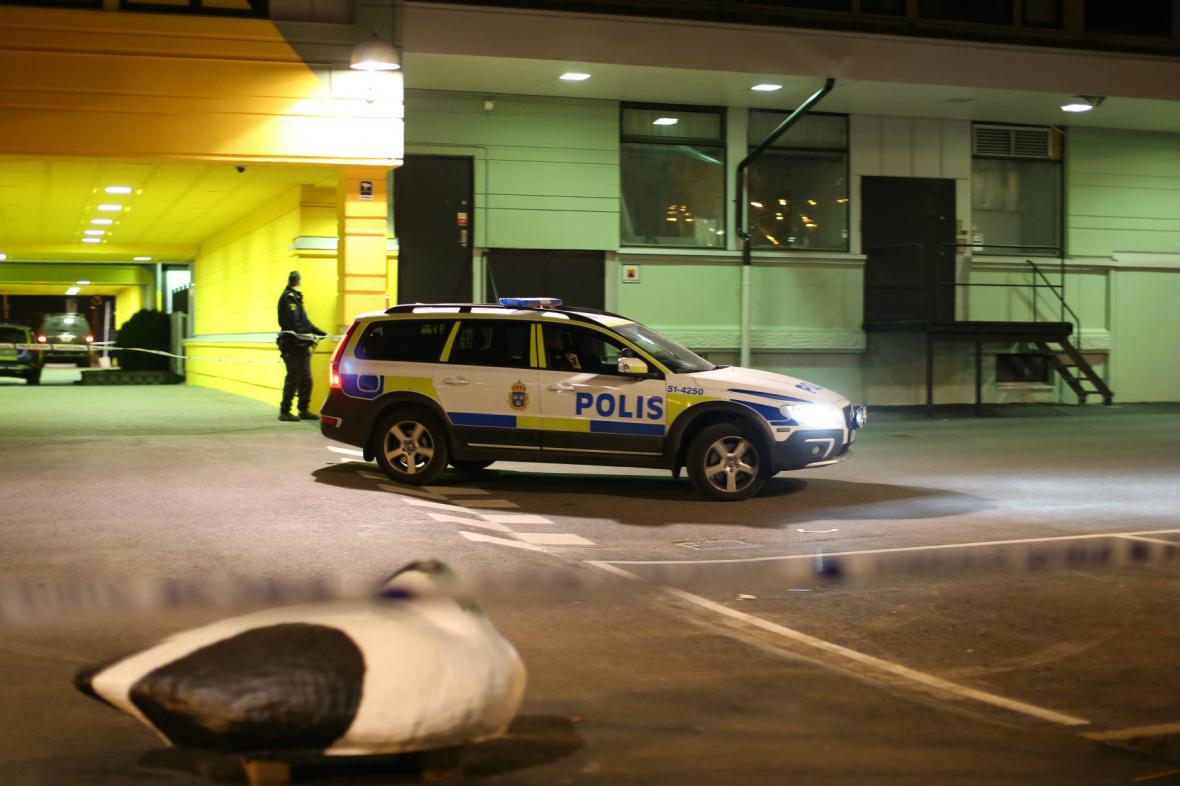 Vyšetřování přestřelky v restauraci v Göteborgu