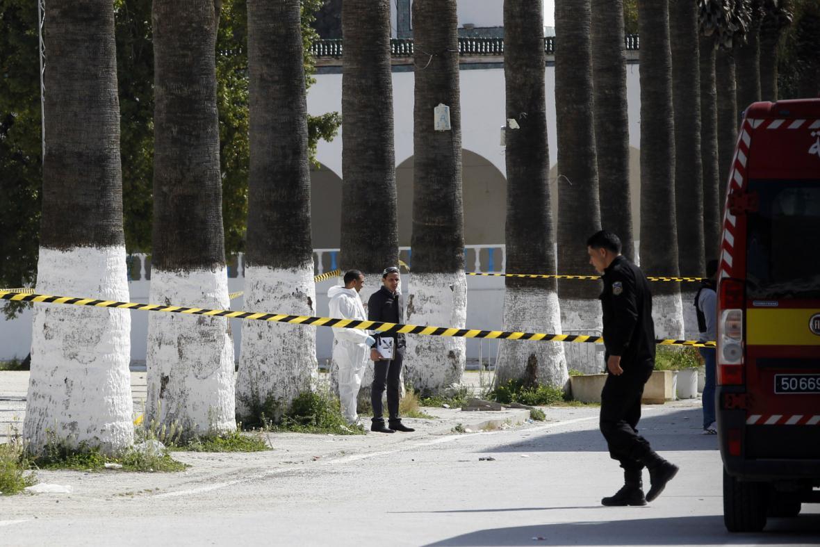 Vyšetřování útoku v tuniském muzeu