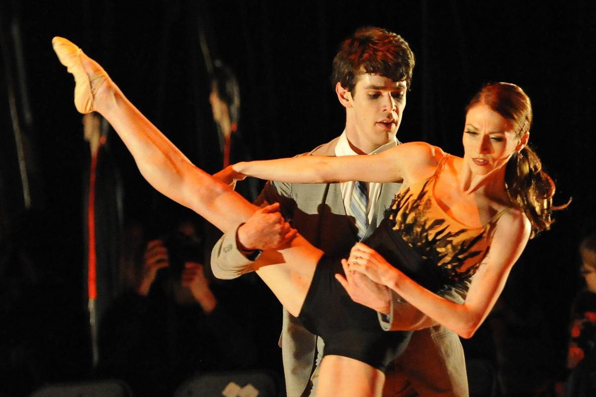 Balet Black and White v Národním divadle Brno