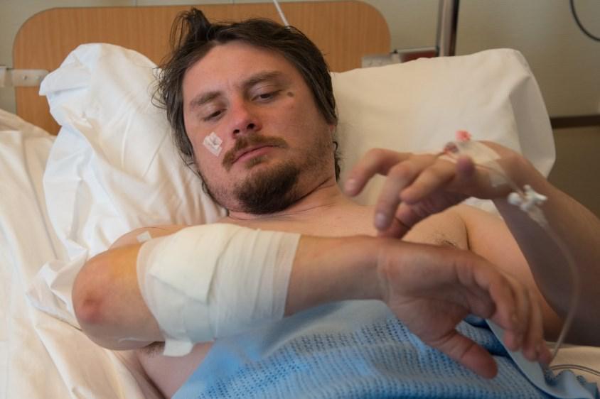 Zraněný český muž v nemocnici v Longyearbyenu