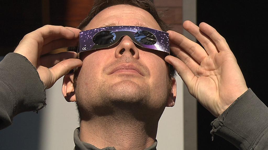 Ochrana očí při zatmění Slunce