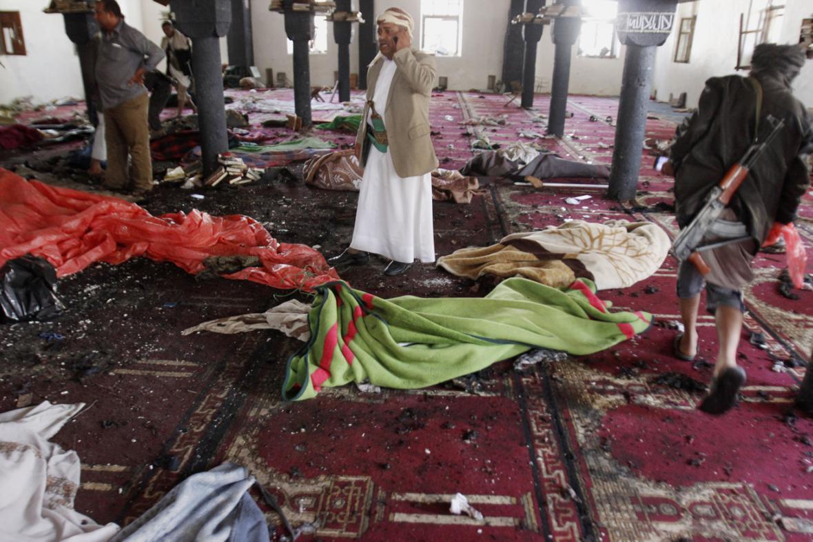 Atentát na mešitu v Saná