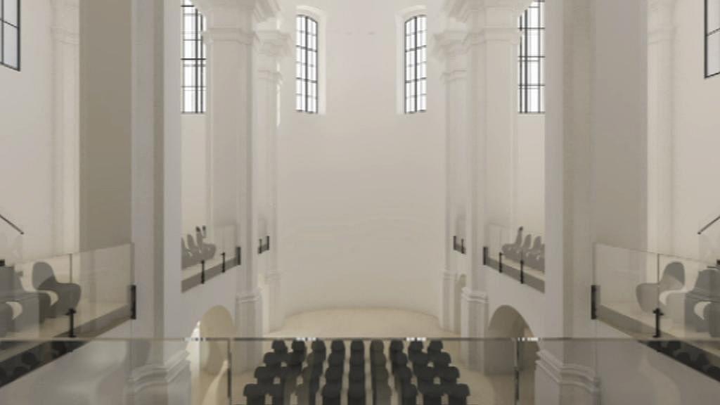 Vizualizace nové podoby kostela sv. Michaela