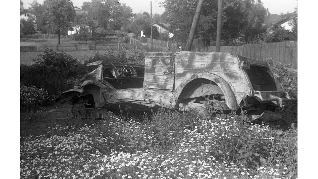 Ostrava-Svinov, jaro 1945