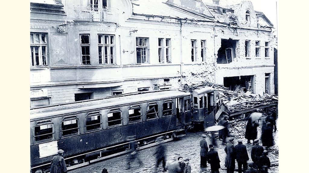 Ostrava-Michálkovice, jaro  1945
