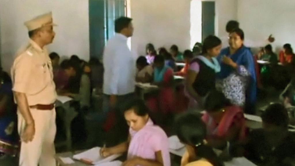 Postupové zkoušky na indické škole
