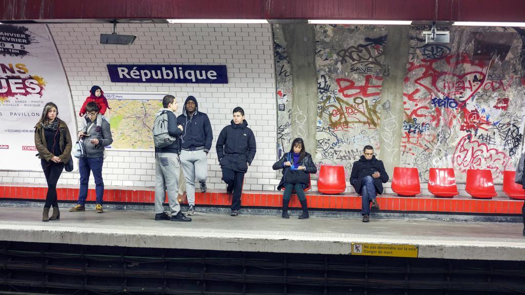 Pařížské metro - stanice République