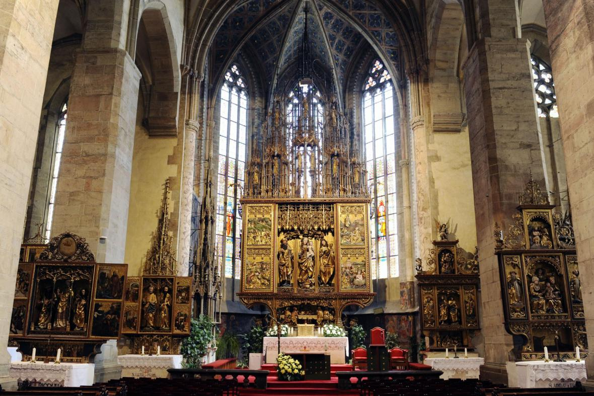 Oltář v Levoči