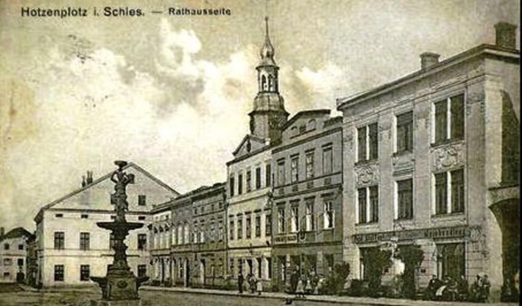 Osoblaha (něm. Hotzenplotz) před rokem 1945