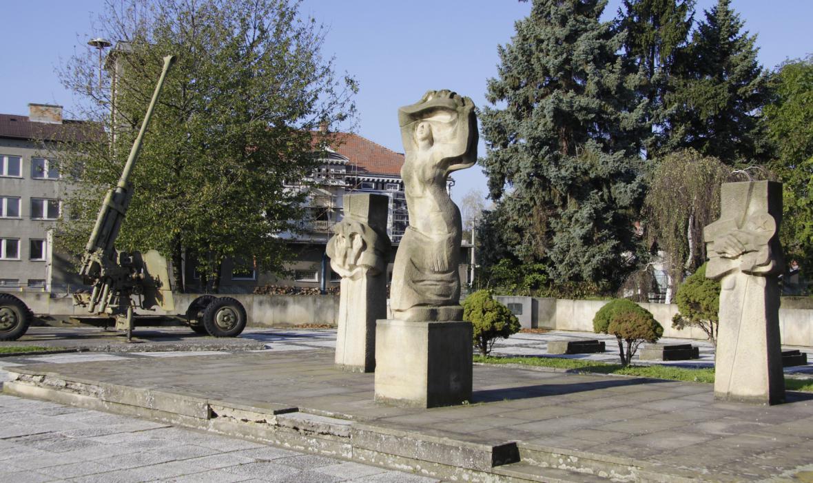 Památník vojákům Rudé armády v Osoblaze