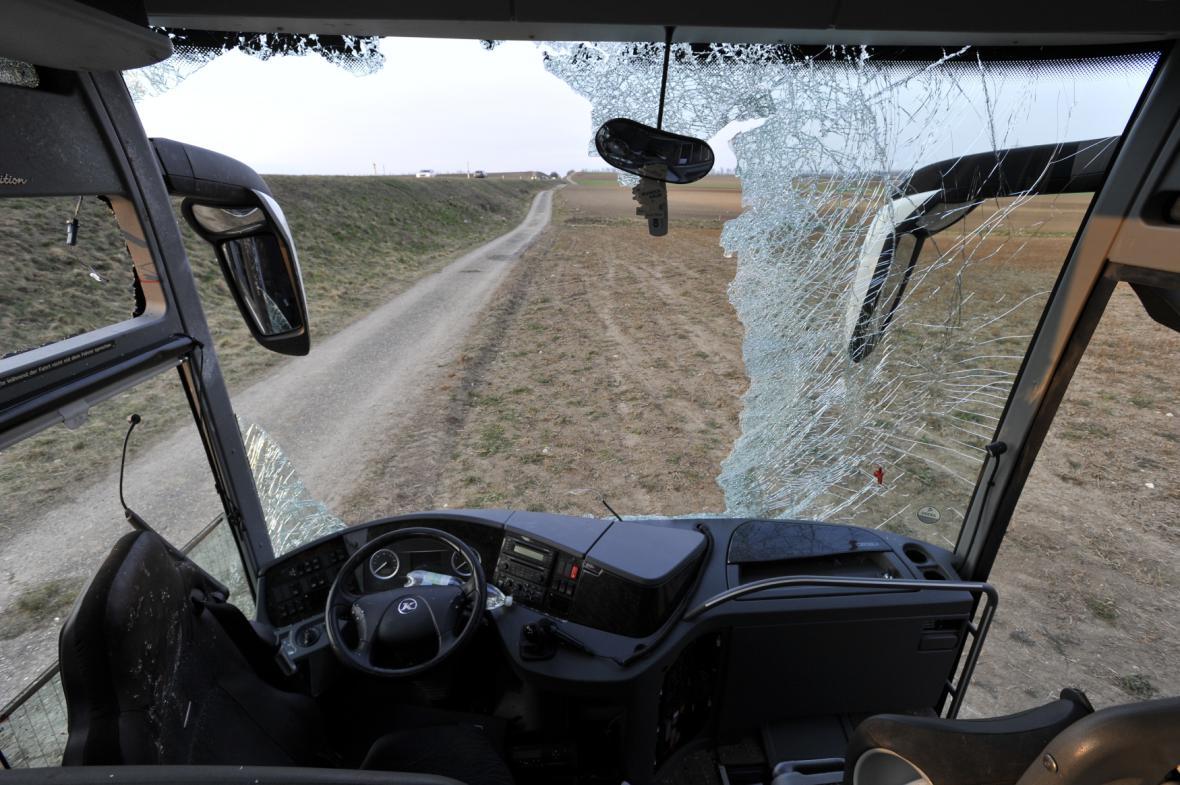 Nehoda autobusu u Mistelbachu