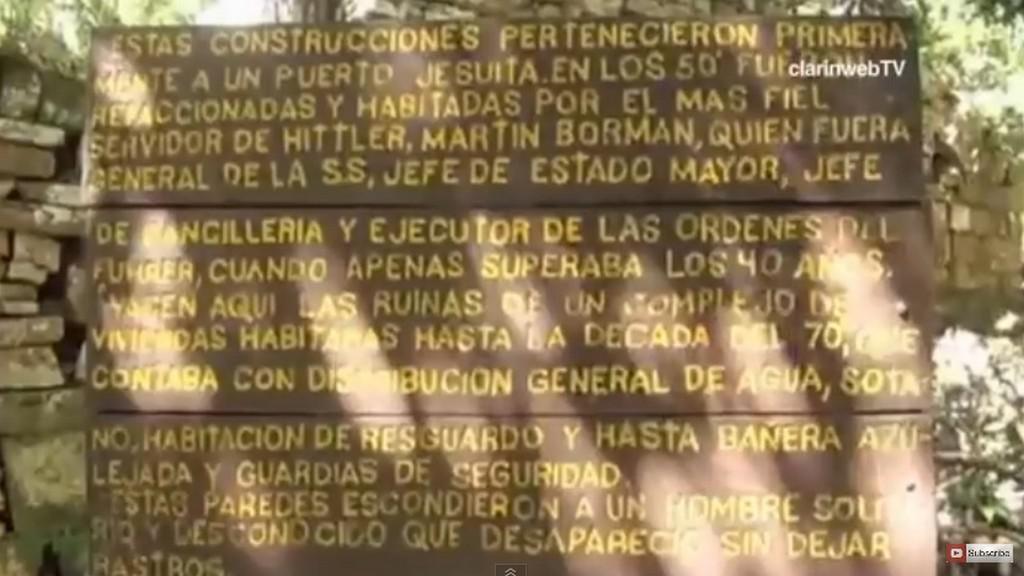 Nacistický úkryt v Argentině