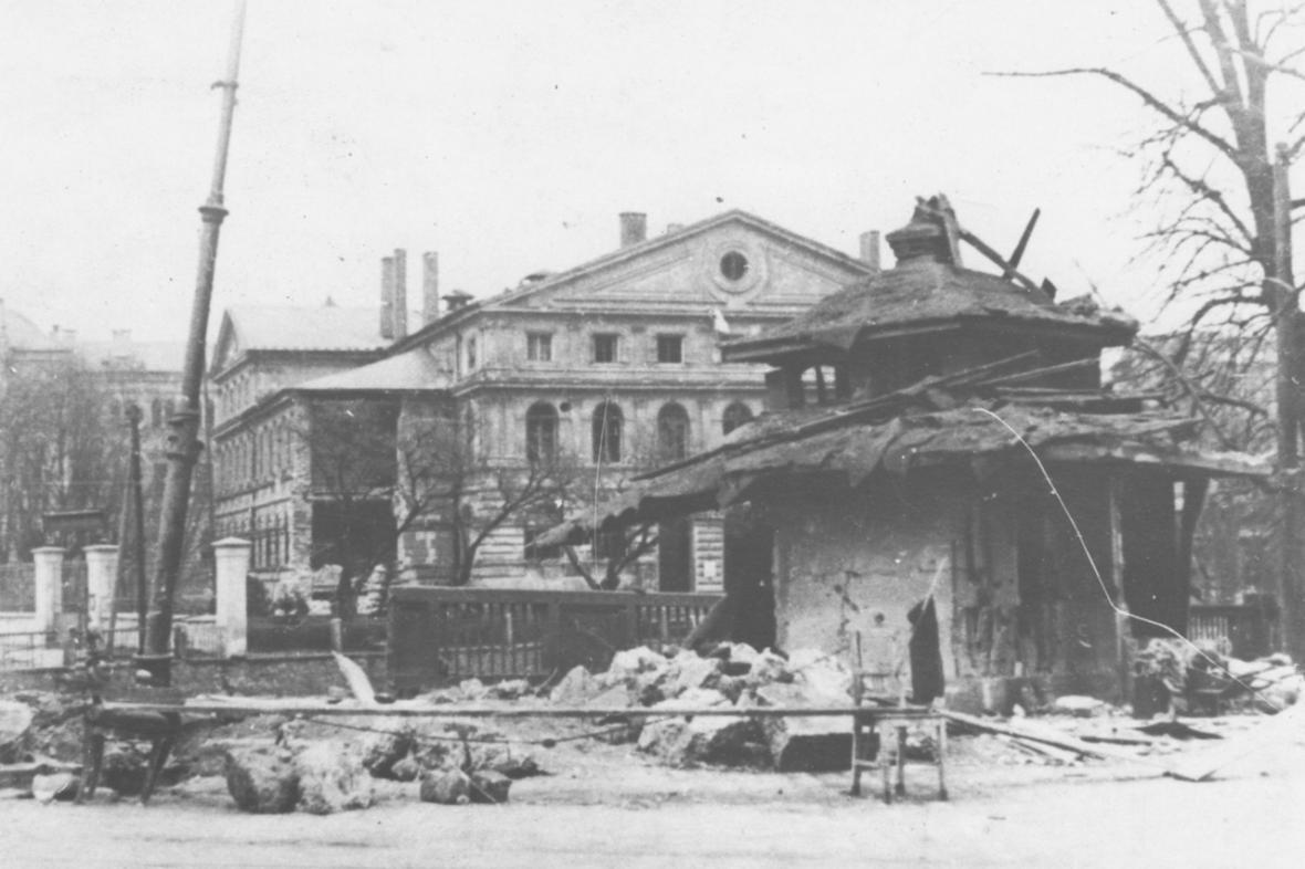 Spojenecké nálety na České Budějovice (1945)