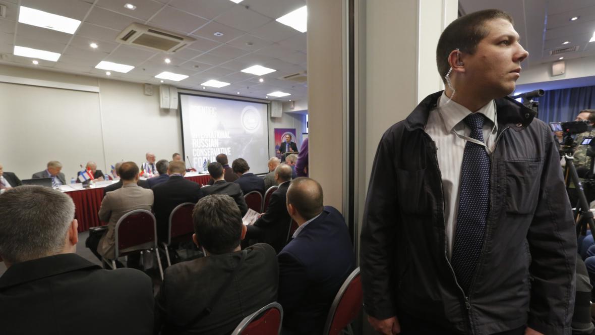 Oficiálně šlo o fórum ruských konzervativců a vlastenců