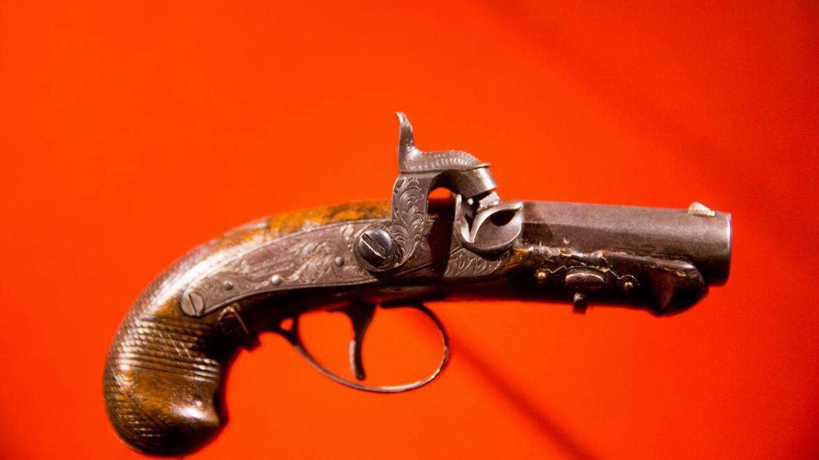 Pistole, která zabila prezidenta Lincolna