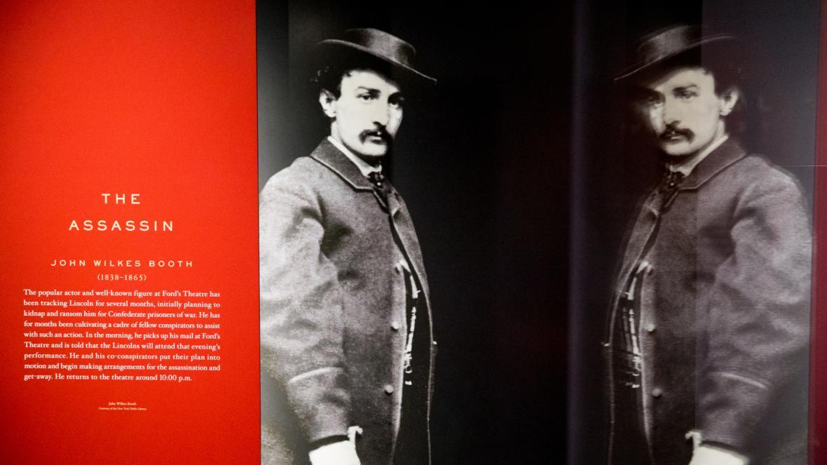 Lincolnův vrah John Wilkes Booth