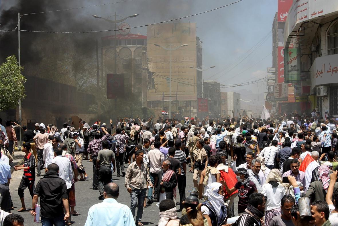 Nepokoje v Jemenu