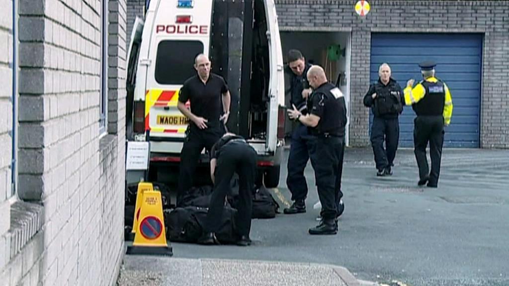 Zátah britské policie proti obchodníkům s lidmi