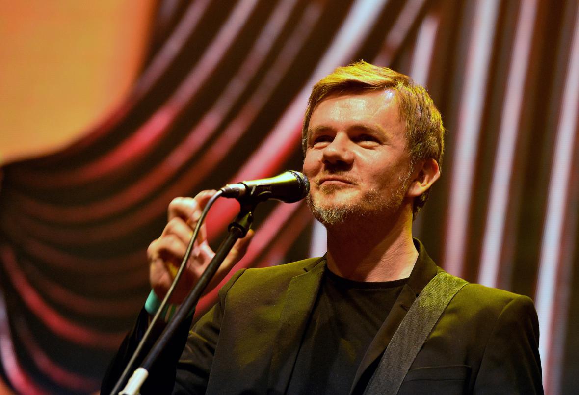 Michal Hrůza se vrátil na pódium