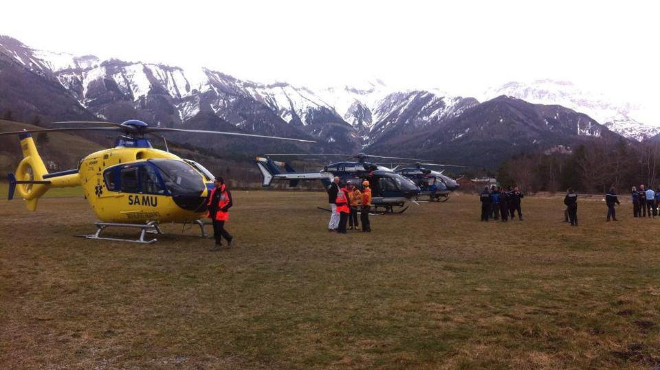 K místu pádu letadla se dostanou záchranáři pouze vrtulníkem