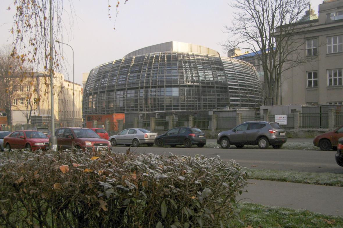 Laboratoře Ústavu organické chemie a biochemie AVČR