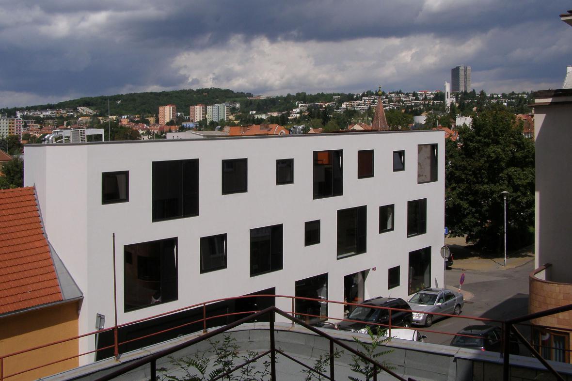 Polyfunkční dům na Burianově náměstí v Brně-Žabovřeskách