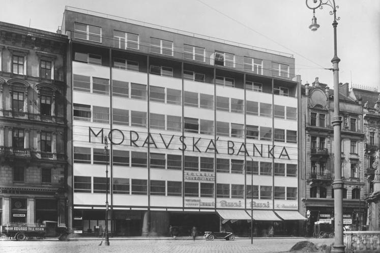 Moravská banka na náměstí Svobody (1928-1930)