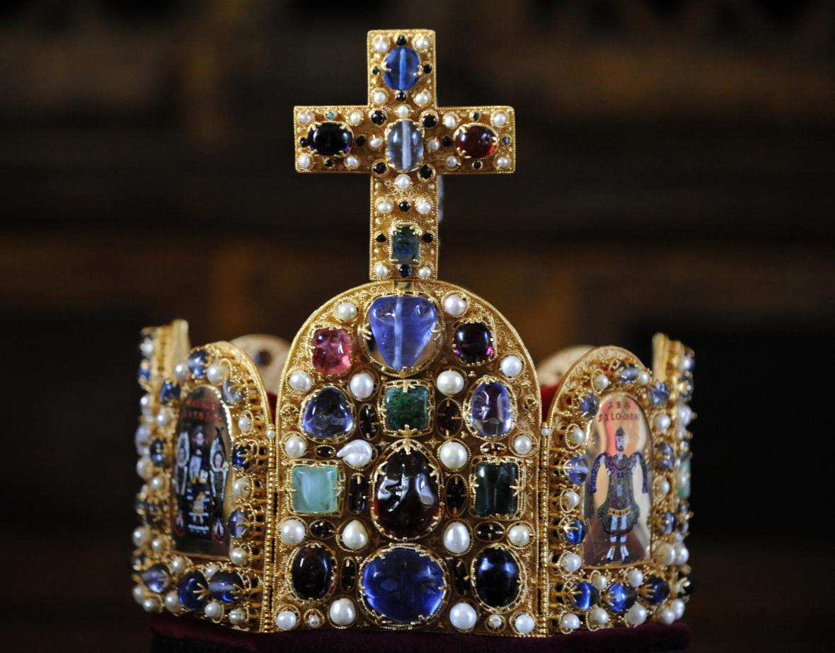 Koruna králů a císařů Svaté říše římské - kopie