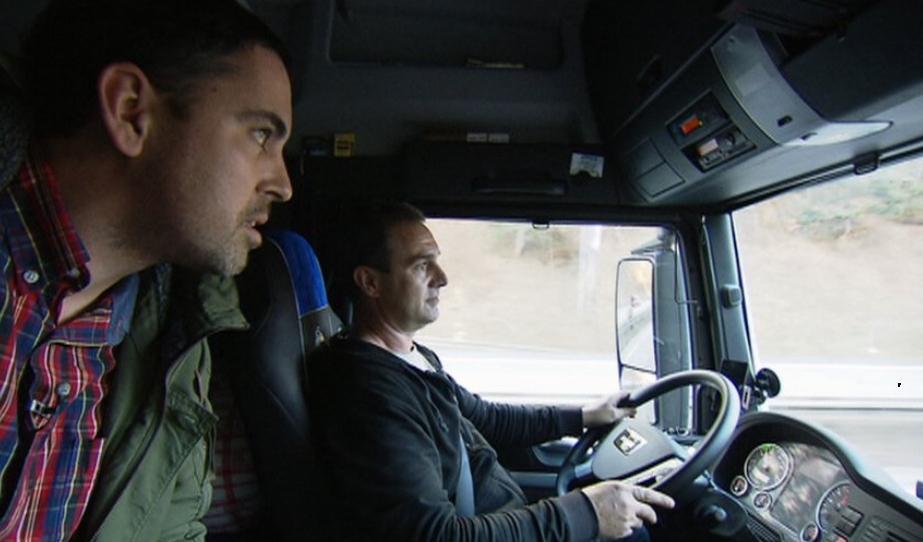 Řidič kamionů zaregistruje platbu mýtného pípnutím