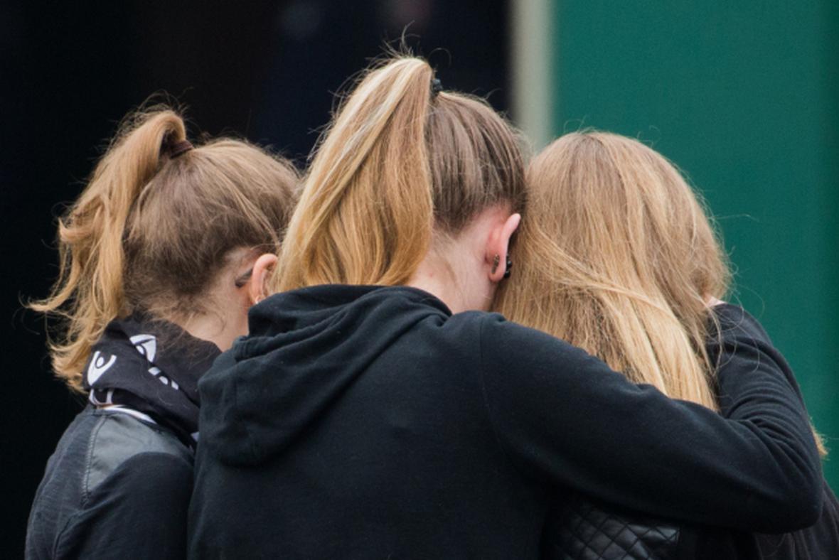 Studentky halternského gymnázia