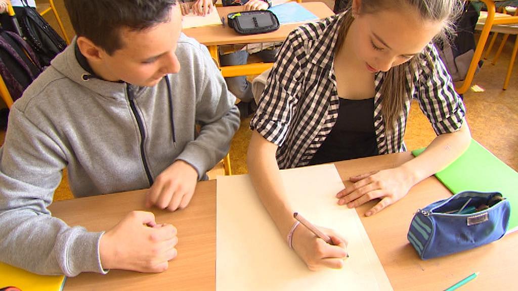 Žáci waldorfské školy v Českých Budějovicích