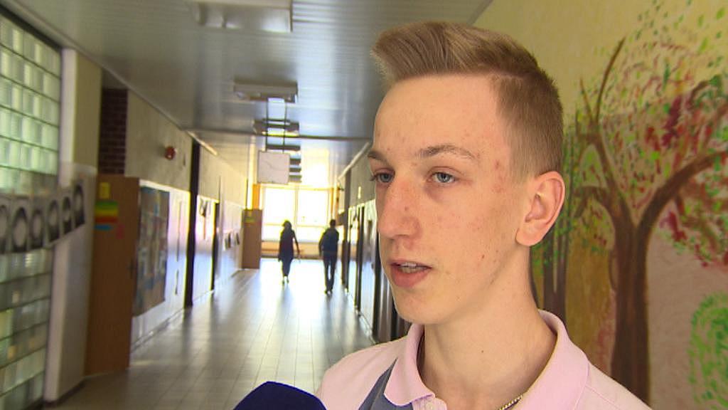 Žák waldorfské školy Kryštof Kubín