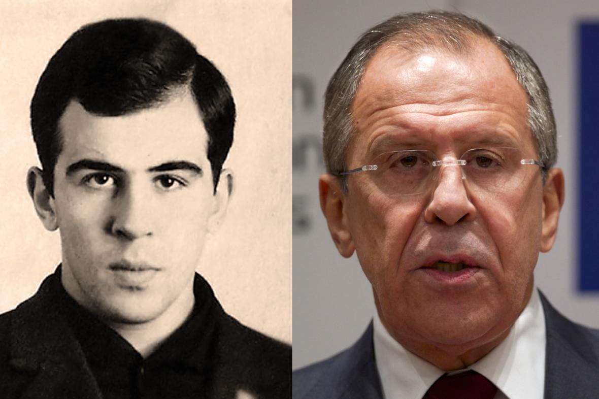 Sergej Lavrov zamlada... a dnes
