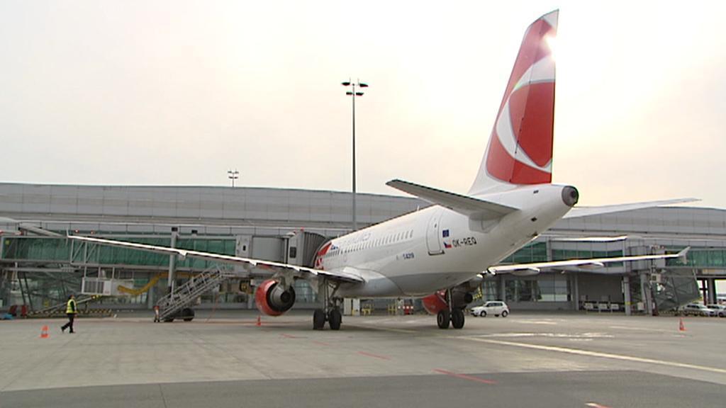 Kontrola letadla před startem
